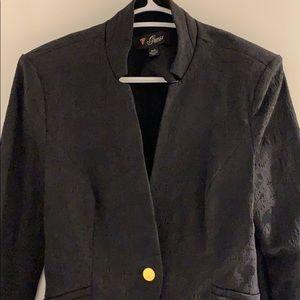Guess Black Lace Blazer